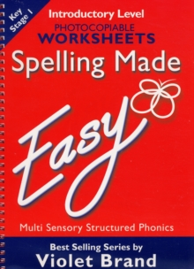 Spelling Made Easy : Introductory Level Photocopiable Worksheets, Mixed media product