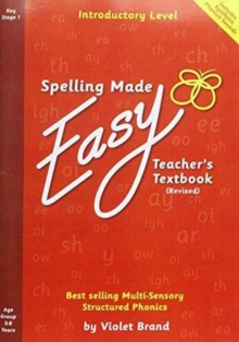 Spelling Made Easy Revised A4 Text Book Introductory Level : Teacher TextBook Introductory, Paperback