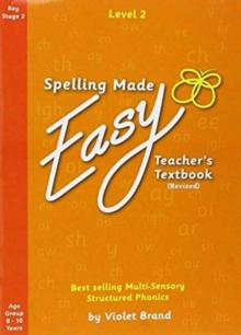 Spelling Made Easy Revised A4 Text Book Level 2 : 3, Paperback Book