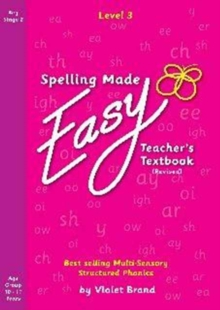 Spelling Made Easy Revised A4 Text Book Level 3 : Teacher Textbook Revised 4, Paperback Book