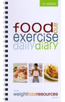 Food and Exercise Daily Diary, Paperback