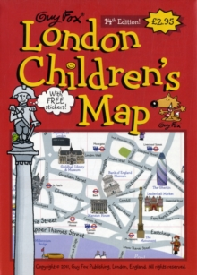 London Children's Map, Sheet map, folded Book