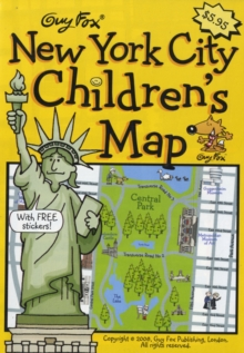 Guy Fox New York City Children's Map, Sheet map