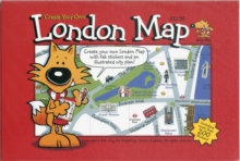 Guy Fox 'Create Your Own' London Map, Sheet map, folded