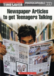 Newspaper Articles to Get Teenagers Talking, Paperback