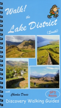 Walk! the Lake District South, Spiral bound Book