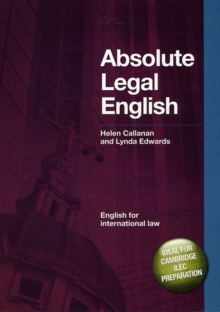 DBE: Absolute Legal English Book : English for International Law, Mixed media product Book
