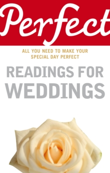 Perfect Readings for Weddings, Paperback
