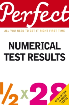 Perfect Numerical Test Results, Paperback