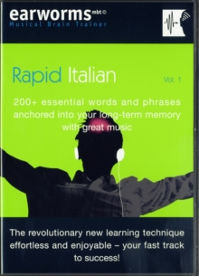 Rapid Italian : 200+ Essential Words and Phrases Anchored into Your Long Term Memory with Great Music, Mixed media product