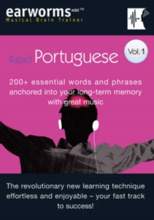 Rapid Portuguese : 200+ Essential Words and Phrases Anchored into Your Long Term Memory with Great Music v. 1, Mixed media product Book