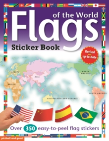 Flags of the World Sticker Book, Paperback