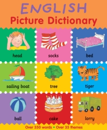 English Picture Dictionary, Paperback