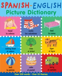 Spanish-English Picture Dictionary, Paperback