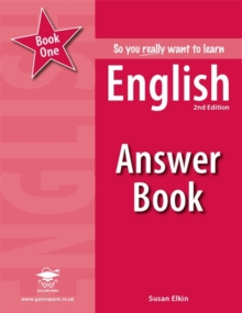 So You Really Want to Learn English Book 1 Answer Book, Paperback