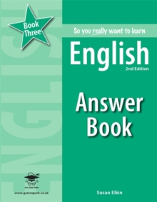 So You Really Want to Learn English Book 3 Answer Book, Paperback Book