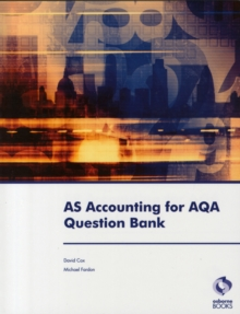 AS Accounting for AQA Question Bank, Paperback