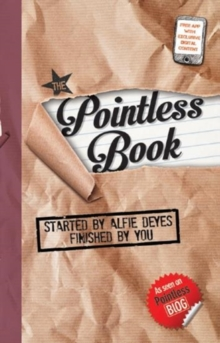 The Pointless Book : Started by Alfie Deyes, Finished by You, Paperback Book