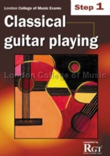 Step 1 LCM Exams Classical Guitar Playing, Paperback Book
