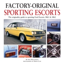 Factory-Original Sporting Mk1 Escorts, Hardback
