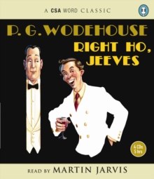 Right Ho, Jeeves, CD-Audio