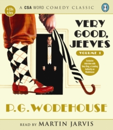 Very Good, Jeeves : v. 1, CD-Audio
