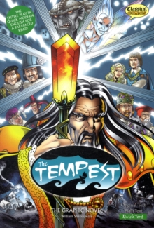 The Tempest : The Graphic Novel Quick Text, Paperback Book