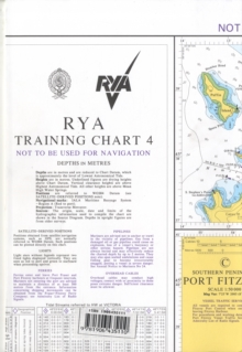 RYA Training Chart : No. 4, Sheet map, folded Book