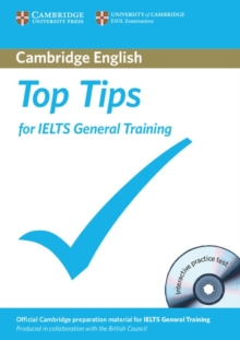 Top Tips for IELTS General Training Paperback with CD-ROM, Mixed media product