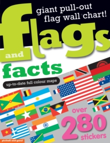 Flags and Facts Sticker Book, Paperback Book