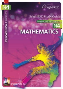 BrightRED Study Guide National 4 Mathematics : N4, Paperback Book