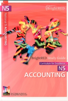 BrightRED Study Guide N5 Accounting, Paperback Book