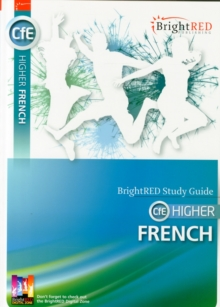 BrightRED Study Guide CFE Higher French : CfE Higher, Paperback