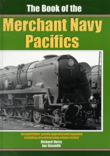 The Book of the Merchant Navy Pacifics, Hardback Book
