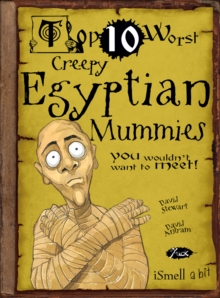Creepy Egyptian Mummies, Paperback Book