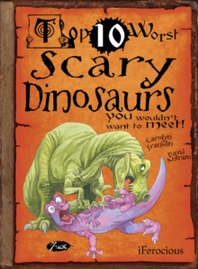 Scary Dinosaurs, Paperback