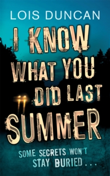 I Know What You Did Last Summer, Paperback Book