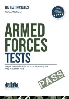 Armed Forces Tests (practice Tests for the Army, RAF and Royal Navy) : 1 1, Paperback