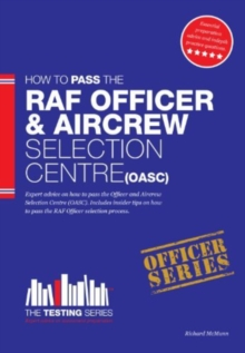 Royal Air Force Officer Aircrew and Selection Centre Workbook (OASC), Paperback