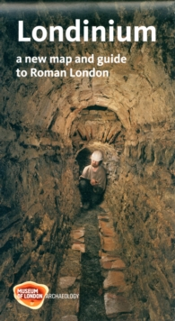 Londinium : A New Map and Guide to Roman London, Sheet map, folded
