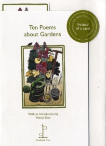 Ten Poems About Gardens, Pamphlet