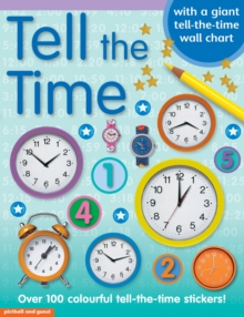 Tell the Time Sticker Book, Paperback Book