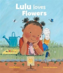 Lulu Loves Flowers, Hardback Book