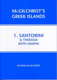 Santorini & Therasia with Anaphi : 1, Paperback