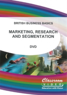 Marketing, Research and Segmentation, DVD