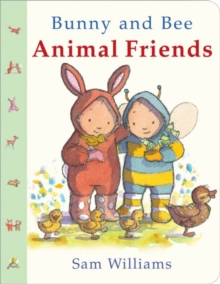 Bunny and Bee Animal Friends, Board book