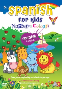 Spanish for Kids: Numbers and Colours, DVD  DVD
