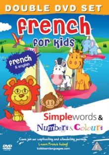 French for Kids: Simple Words/Numbers and Colours, DVD  DVD