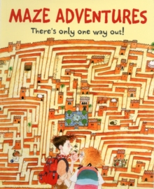 Maze Adventures, Paperback Book