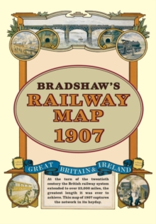 Bradshaw's Railway Folded Map 1907, Sheet map